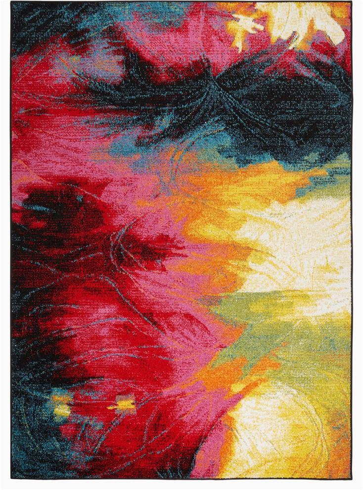 home dynamix splash tomie area rug 5 2x7 2 abstract multi prvw vr