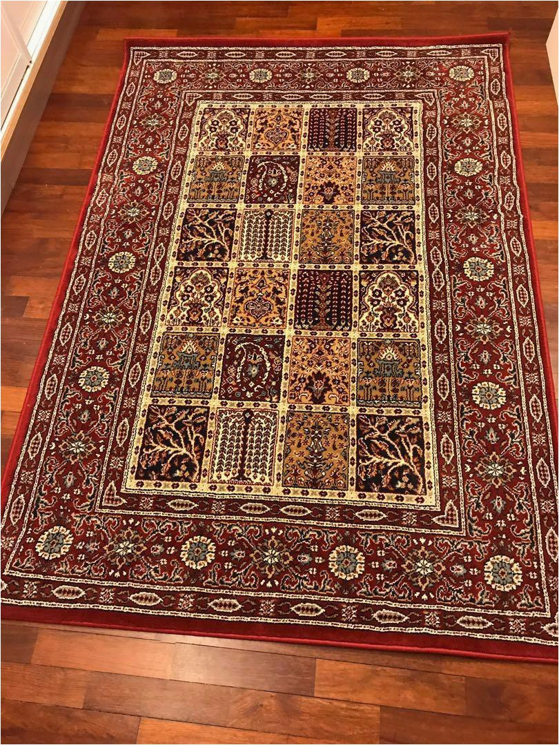 excellent condition ikea valby ruta rug low pile 133 x 195cm
