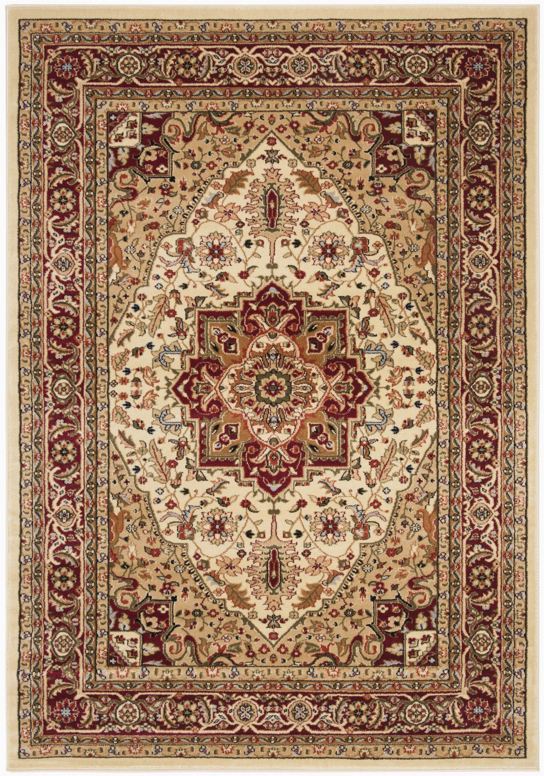 andover mills leona oriental ivoryred area rug w piid=