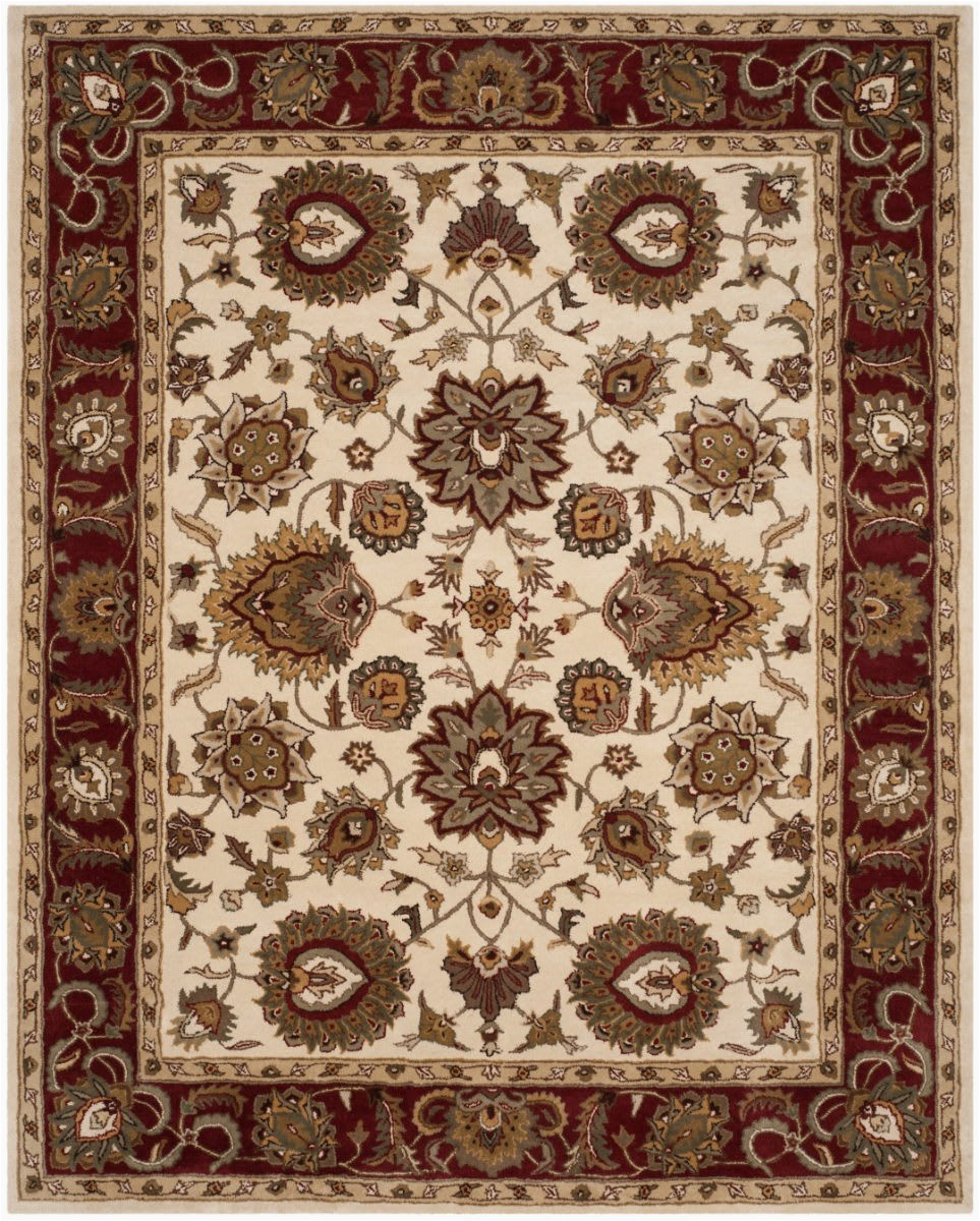 safavieh royalty roy254a ivory red area rugx