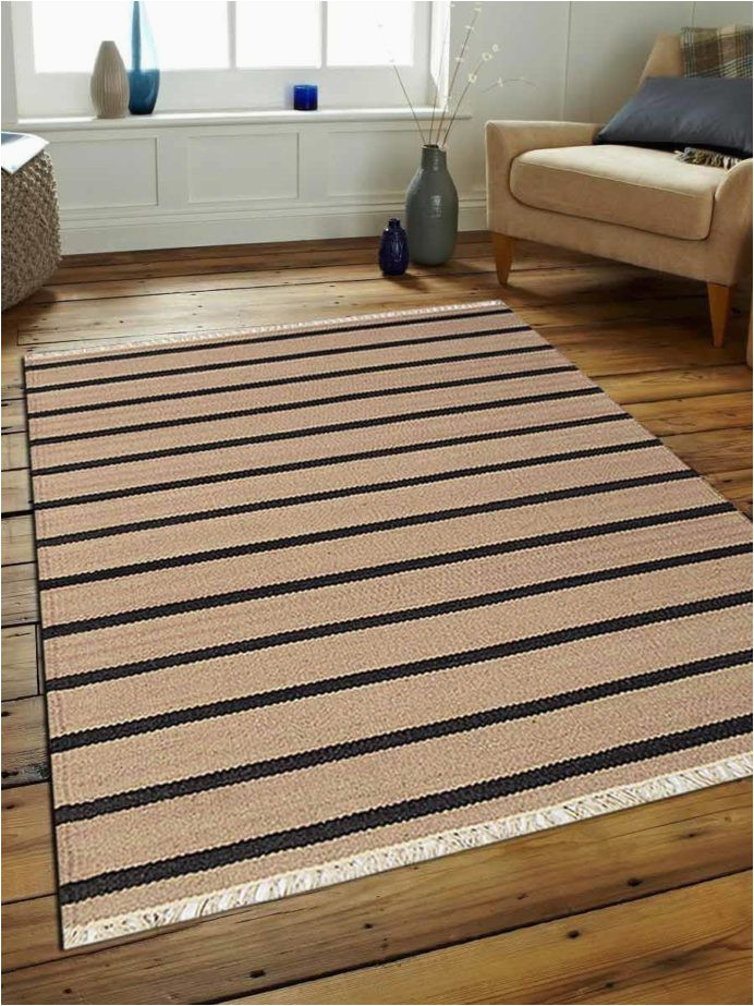 transitional stripe woven area rug flat weave kilim wool walmart rugs 6x9 clearance large square 8x8 room and board 692x923