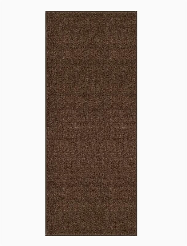 barrios non skid rubber backed brown area rug