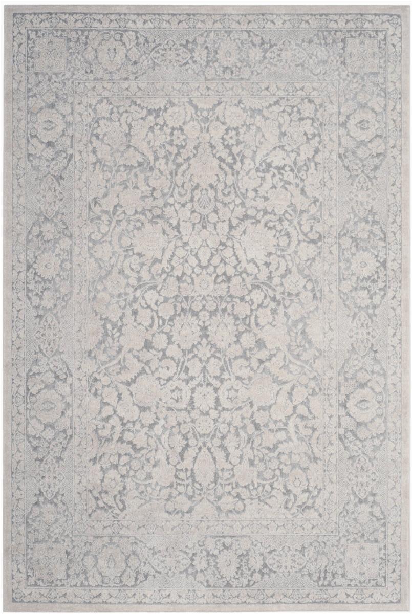 safavieh reflection rft667c light grey cream area rugx