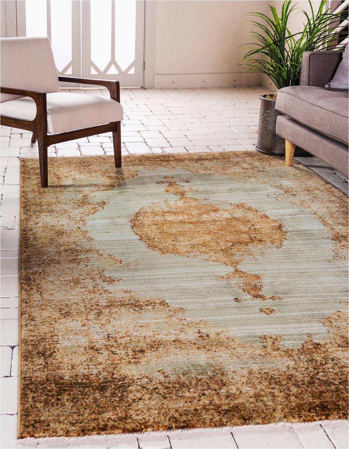 light green 8x10 graham area rug