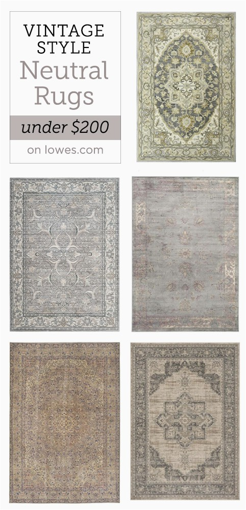 my favorite neutral rugs under 200 from lowes