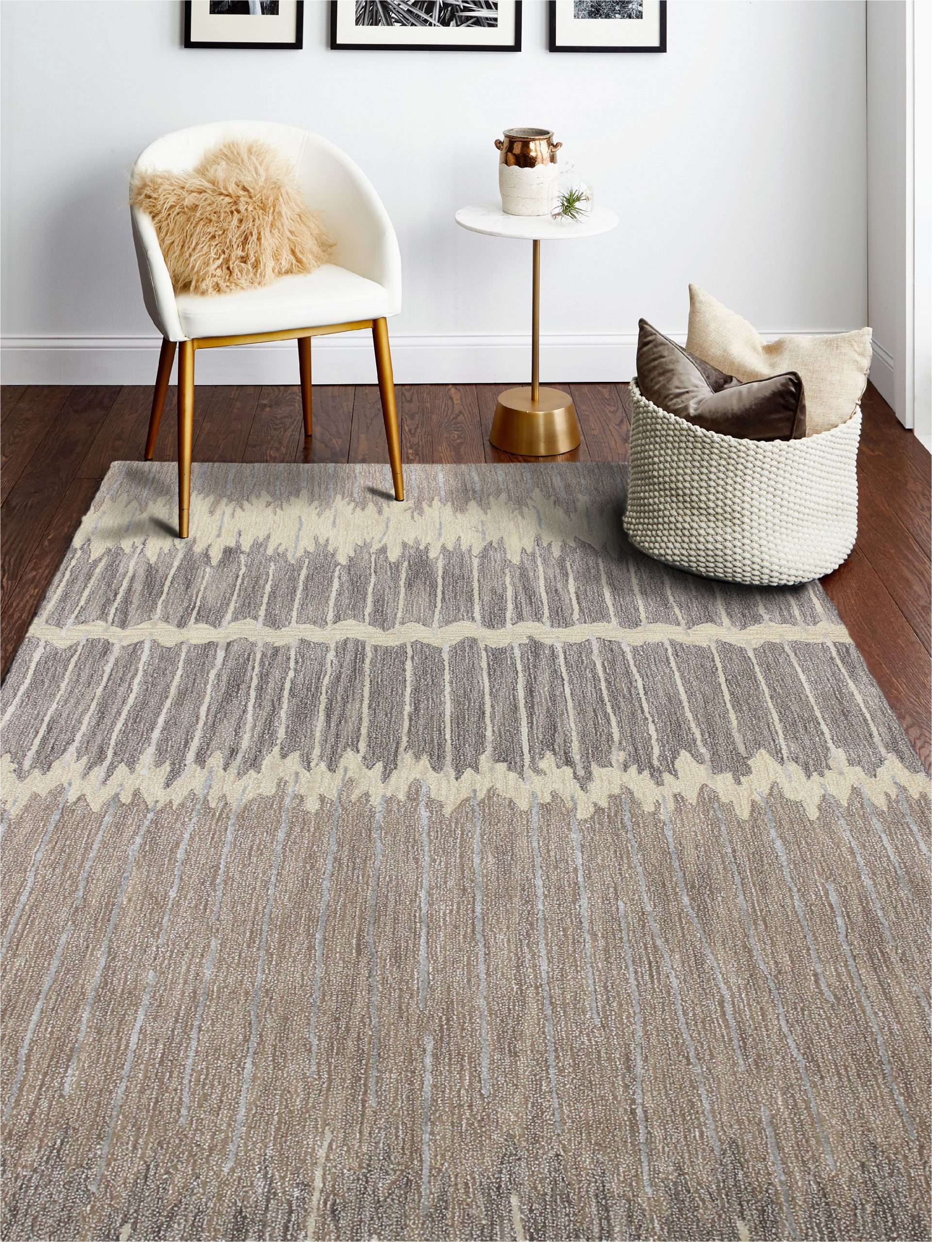 Mainstays Titan Stripe area Rug Bashian Milo Contemporary Striped area Rug Walmart