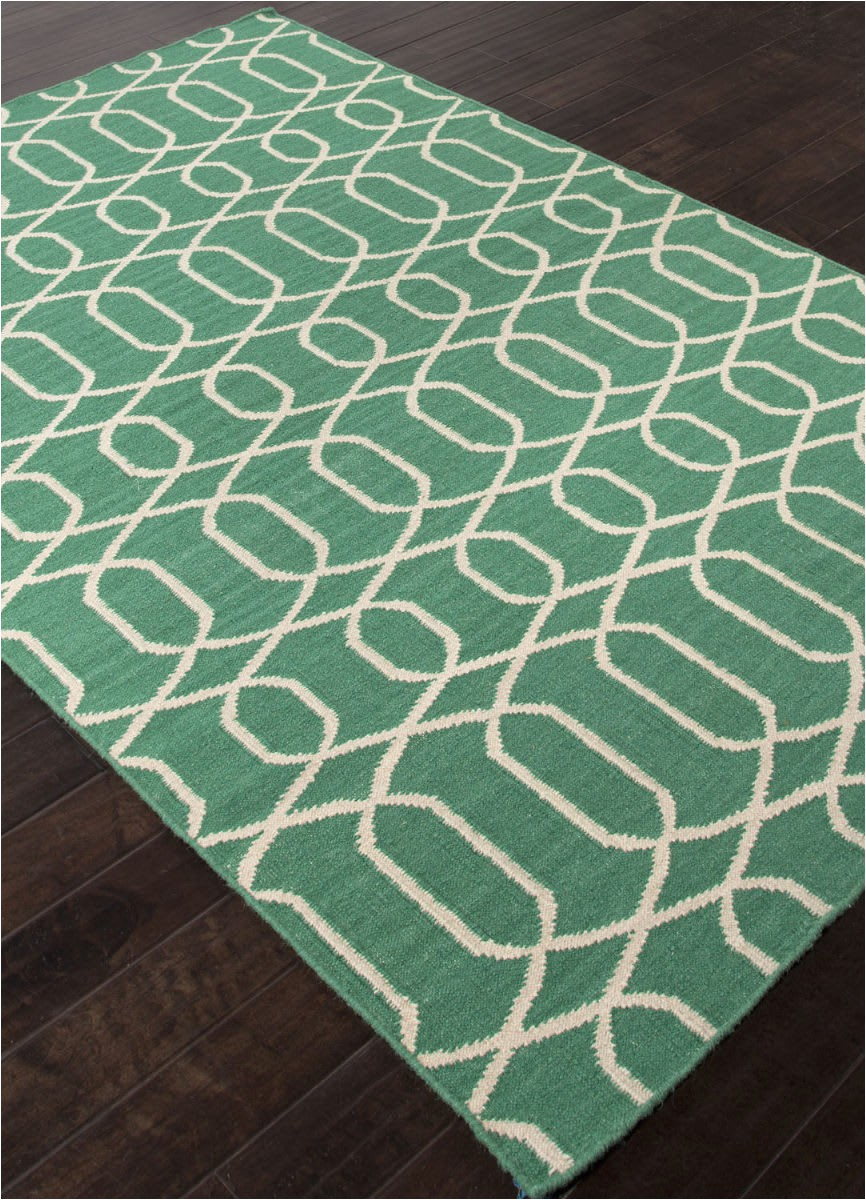 addison and banks flat weave abr1480 emerald green area rugx
