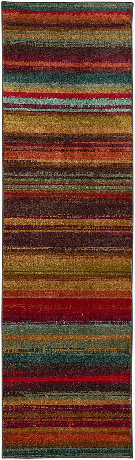 Mohawk Home Boho Stripe area Rug Mohawk Home New Wave Boho Striped Printed area Rug 2 X5 Multi