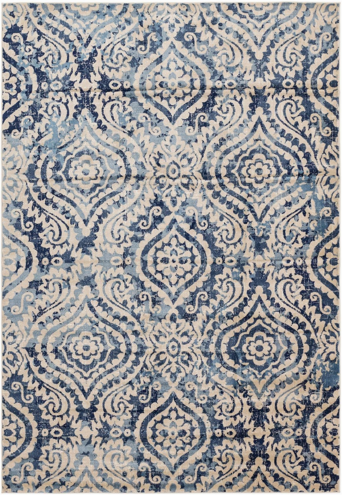 Navy Blue area Rug 7×10 Diana Navy Blue 7×10 area Rug In 2020