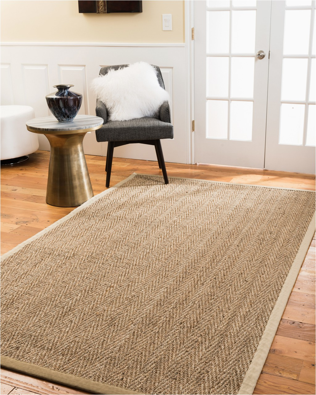 Non toxic Cotton area Rugs Non toxic Rugs Natural area Rugs Four Seasons Seagrass Rug