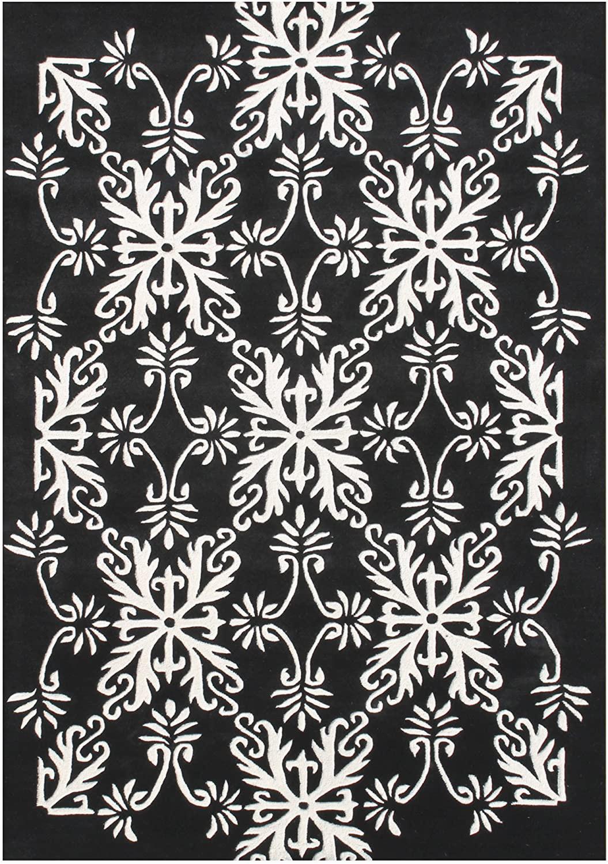 Off White area Rug 5×8 Amazon Git Mit Home area Rugs 5 X 8 Black F White