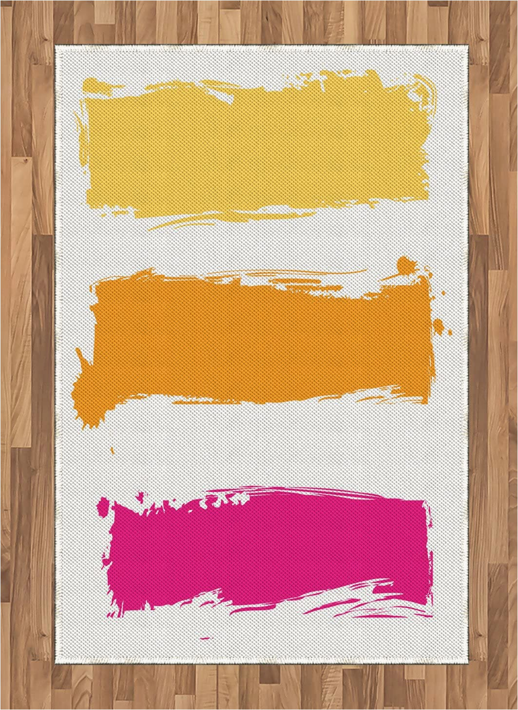 Orange and Pink area Rugs Amazon Ambesonne orange and Pink area Rug Grunge Paint