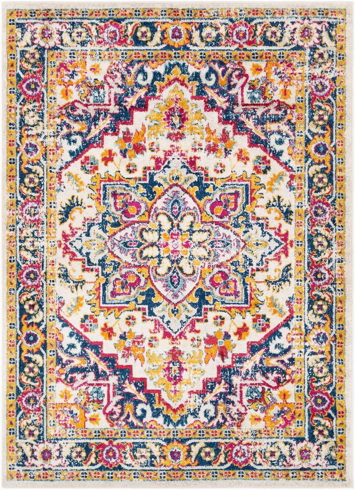 Orange and Pink area Rugs Surya norwich Nwc 2302 Bright Pink area Rug