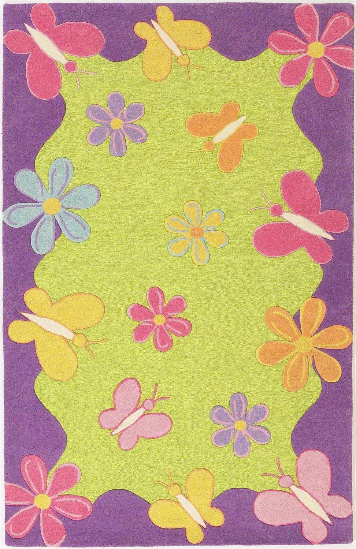 kas rugs kas rugs kidding around 421 lime greenpurple abstract rug 8310 421 lime green purple