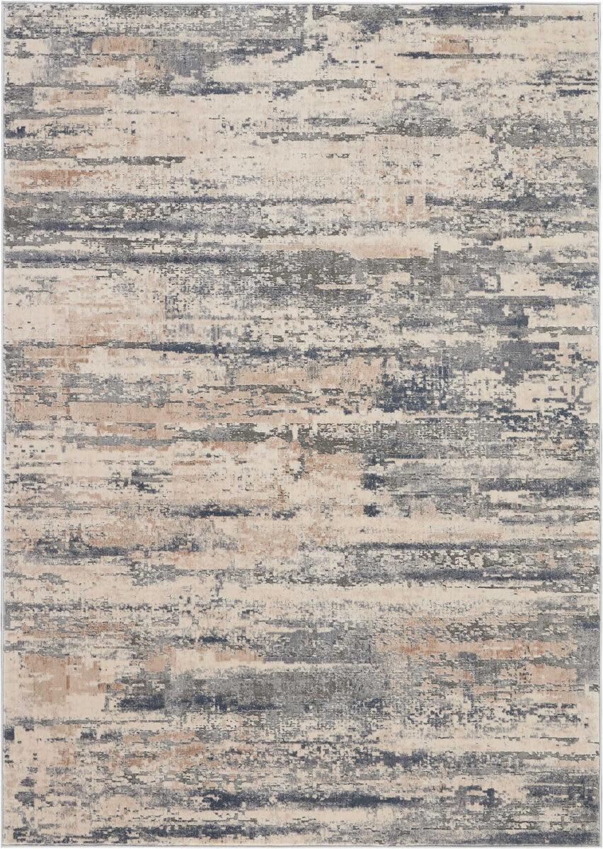 nourison rustic textures rus04 beige grey area rugx