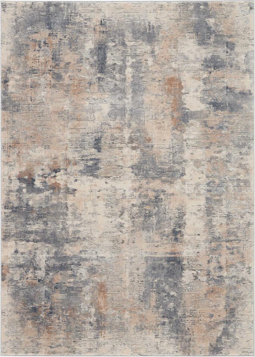 Rustic area Rugs for Sale Nourison Rustic Textures Rus05 Beige Grey area Rug