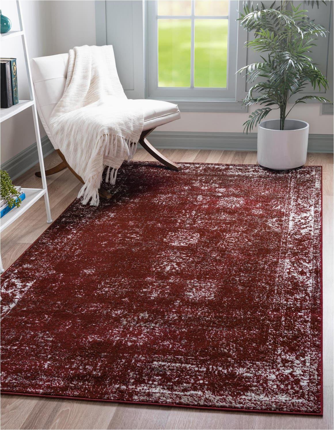 burgundy 8x10 monaco area rug