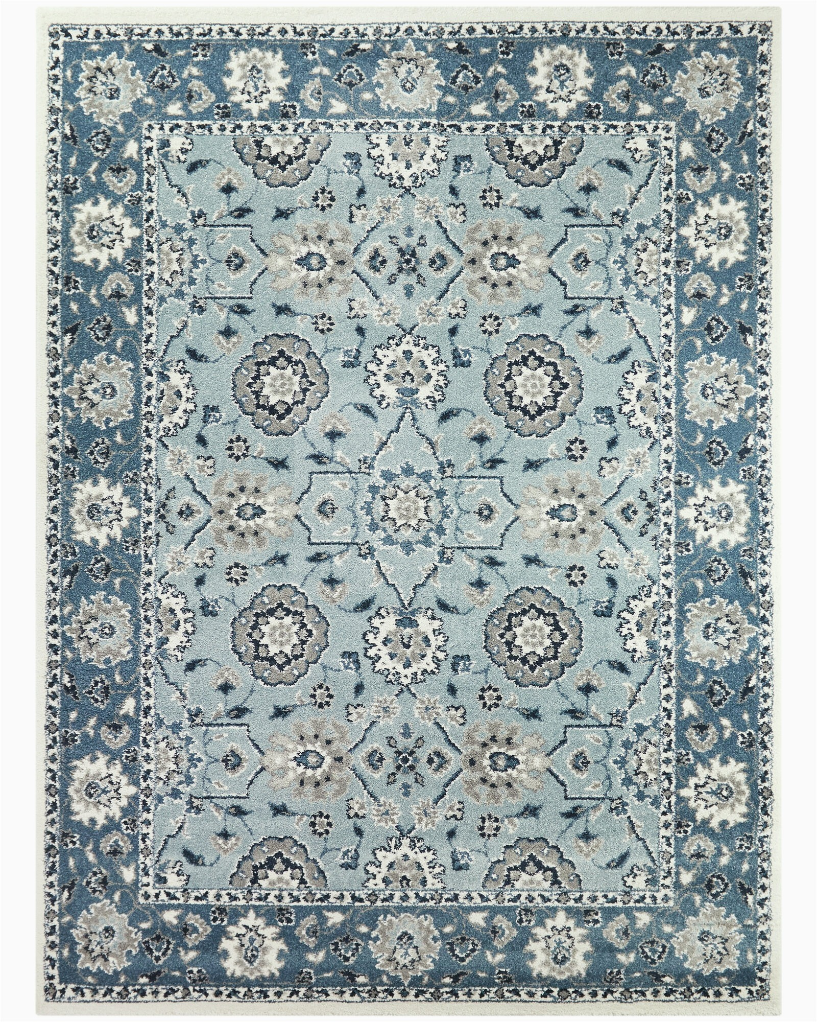 alresford oriental tealblue area rug