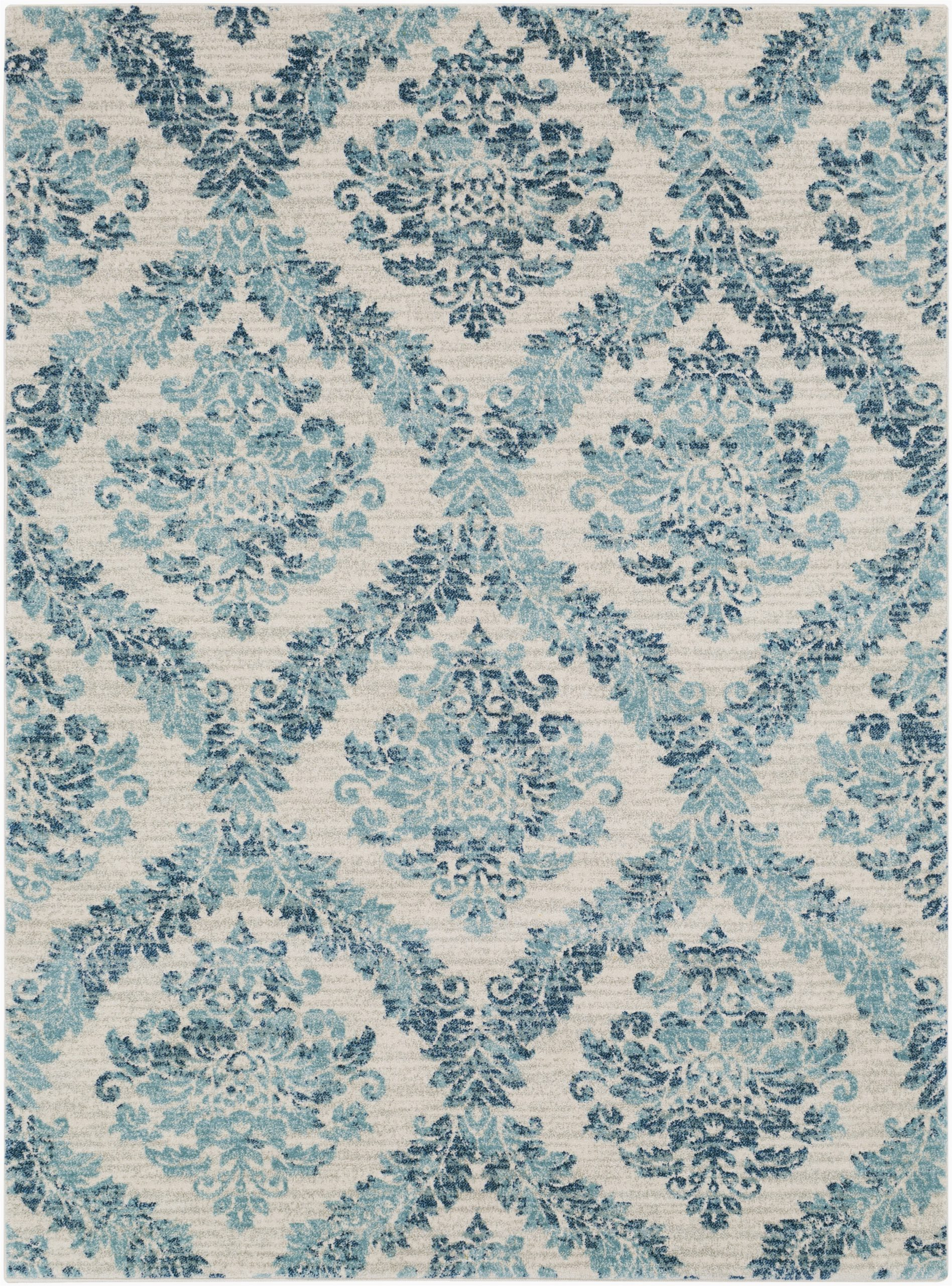 Teal and Blue area Rugs Delana Dark Blue Teal Light Gray area Rug