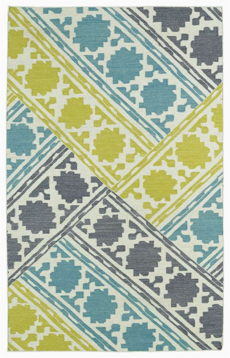 Glam GLA02 78 Turquoise Area Rug by Kaleen p 8047