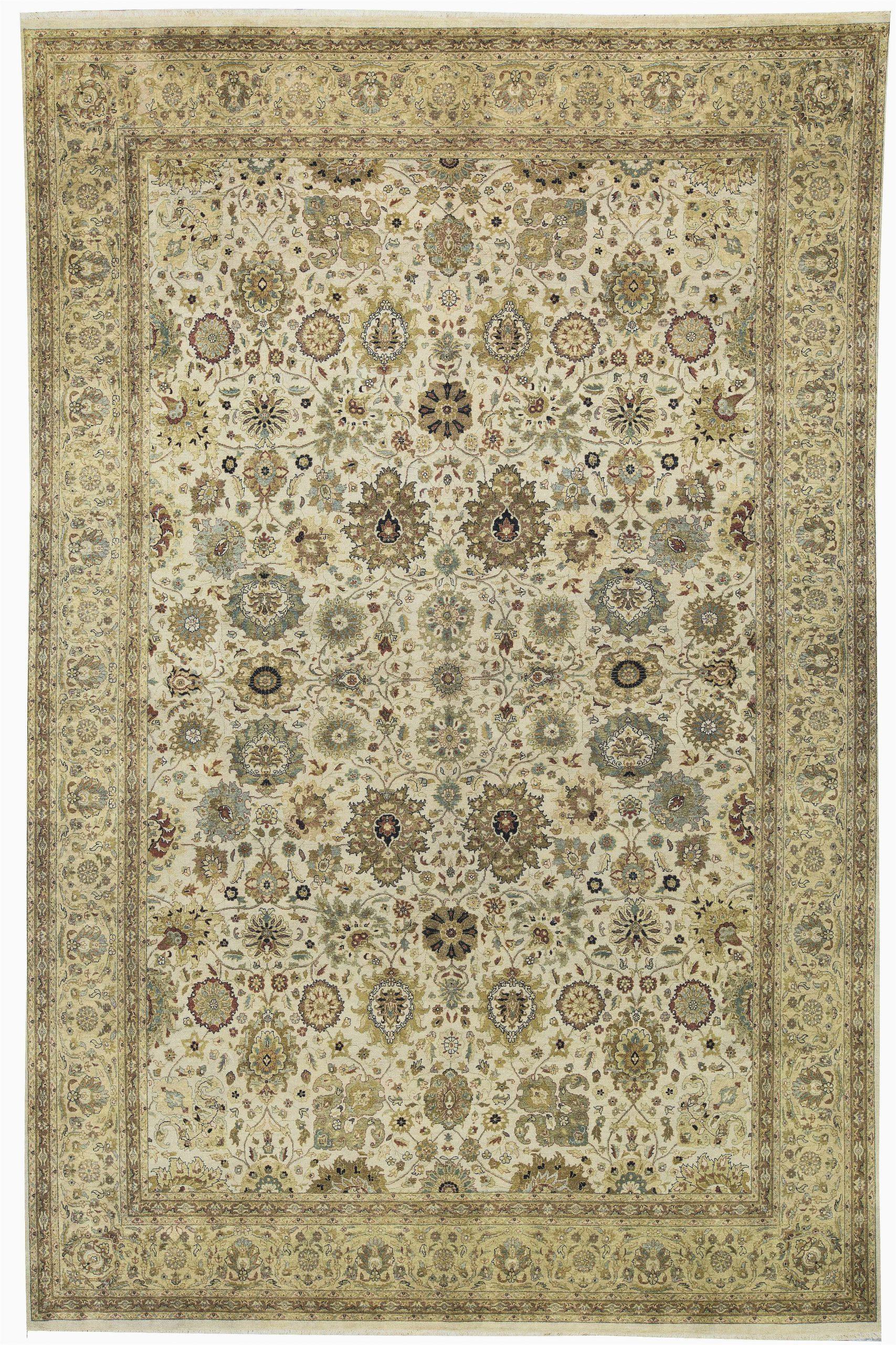 bokara rug co inc one of a kind moghal royal hand knotted beige 1110 x 183 wool area rug abhd2756