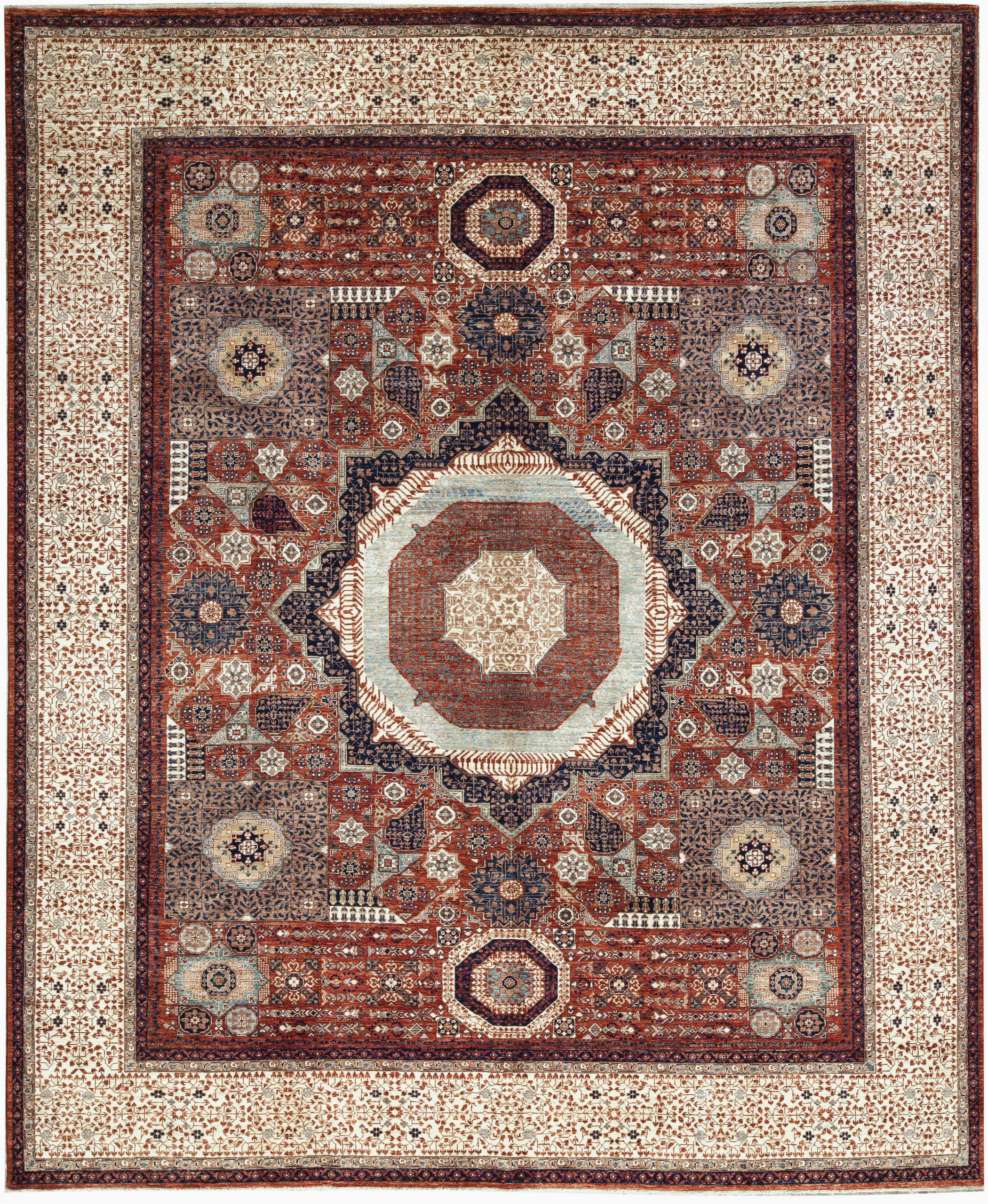bokara rug co inc one of a kind aryana handwoven 118 x 1311 wool redivory area rug abhd2175