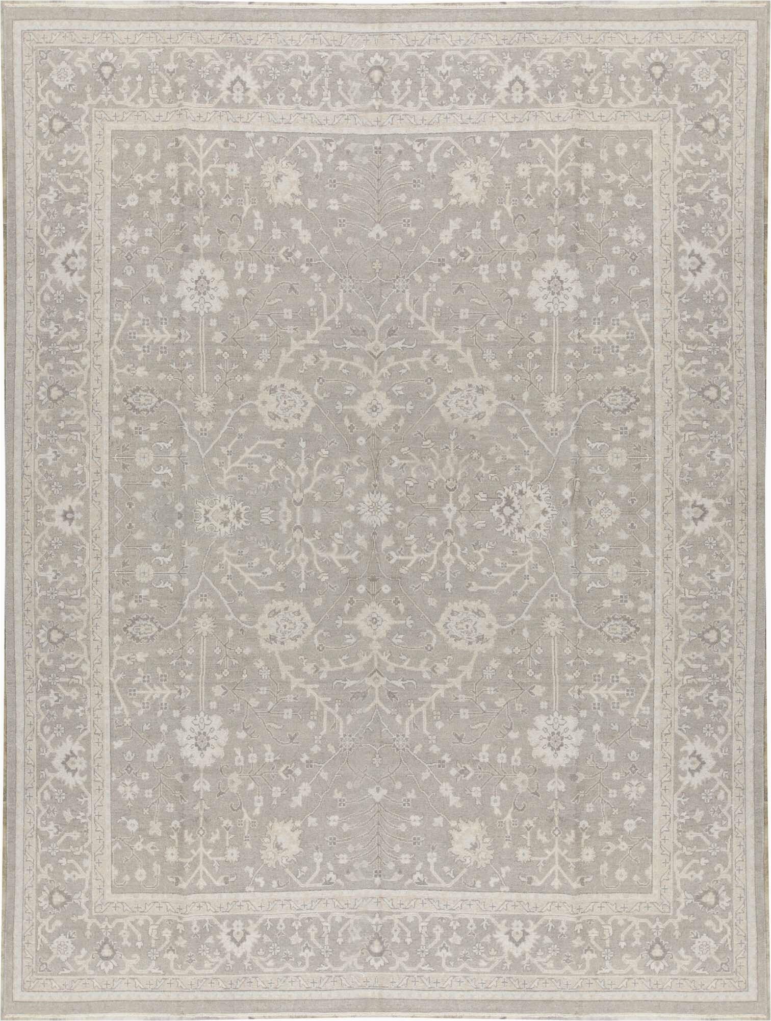 bokara rug co inc one of a kind hand knotted 11 11 x 15 1 grey grey area rug abib8766