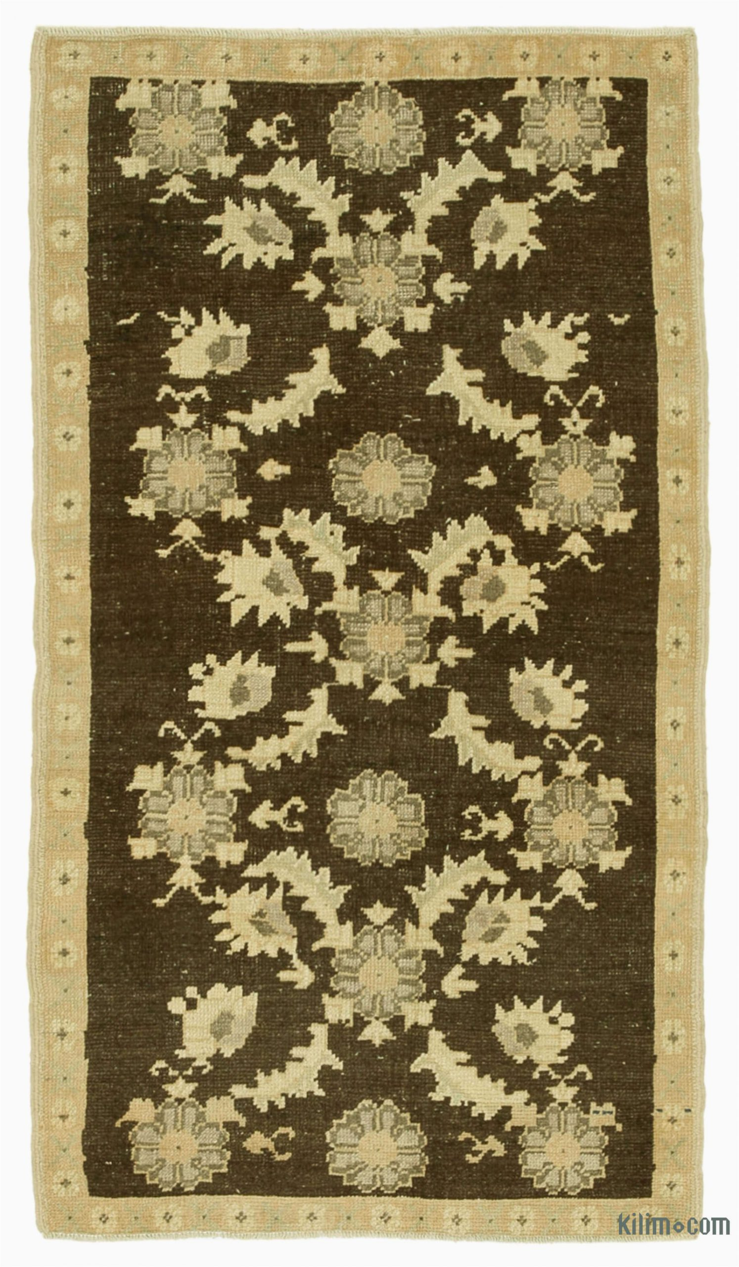 k all wool hand knotted vintage area rug