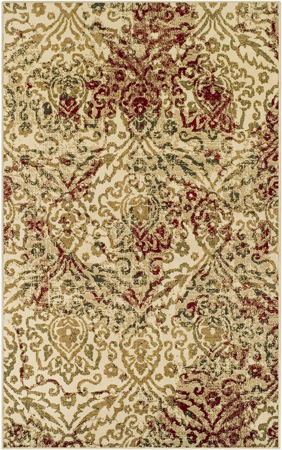 6 Rug Superior Ophelia Collection Area Rug Cream 10mm Pile with