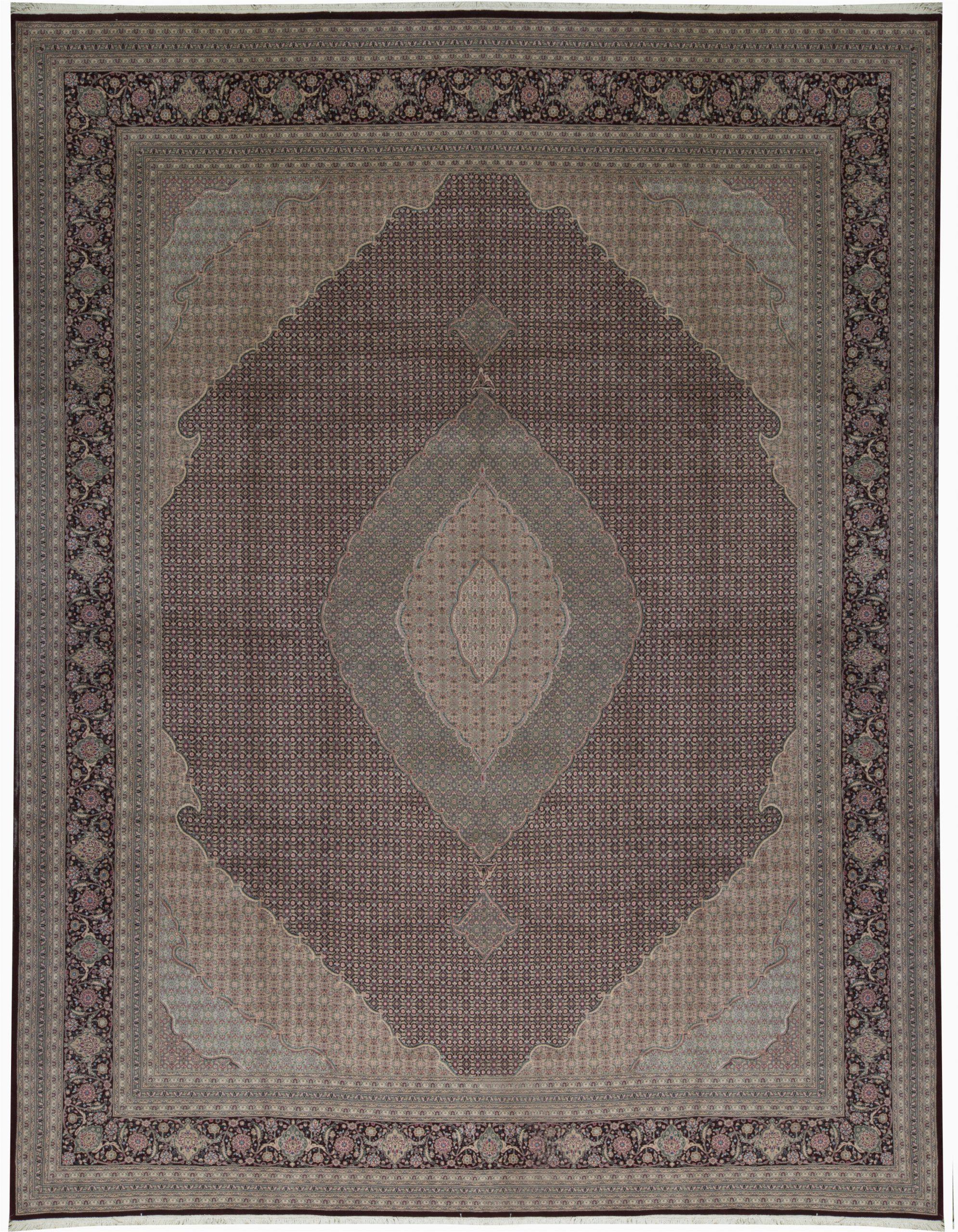 bokara rug co inc one of a kind hand knotted brown 15 x 119 runner wool area rug abhd4113
