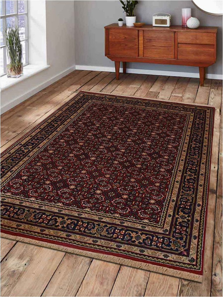 nr0105k0026a54 6 ft 4 in x 9 ft 7 in oriental hand knotted persian nir wool area rug red eb a d d7fdb3a21 p