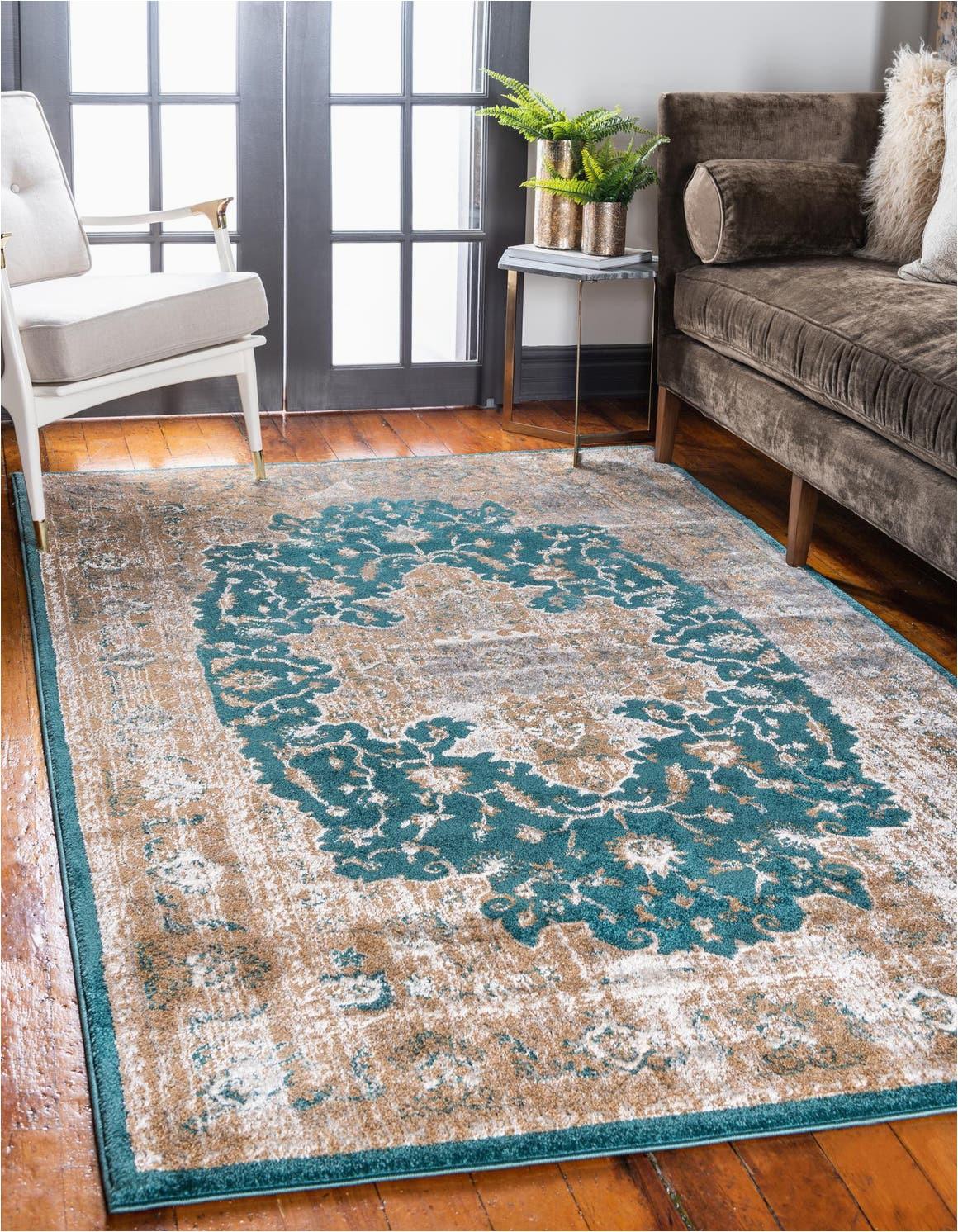 teal 8x10 delilah area rug