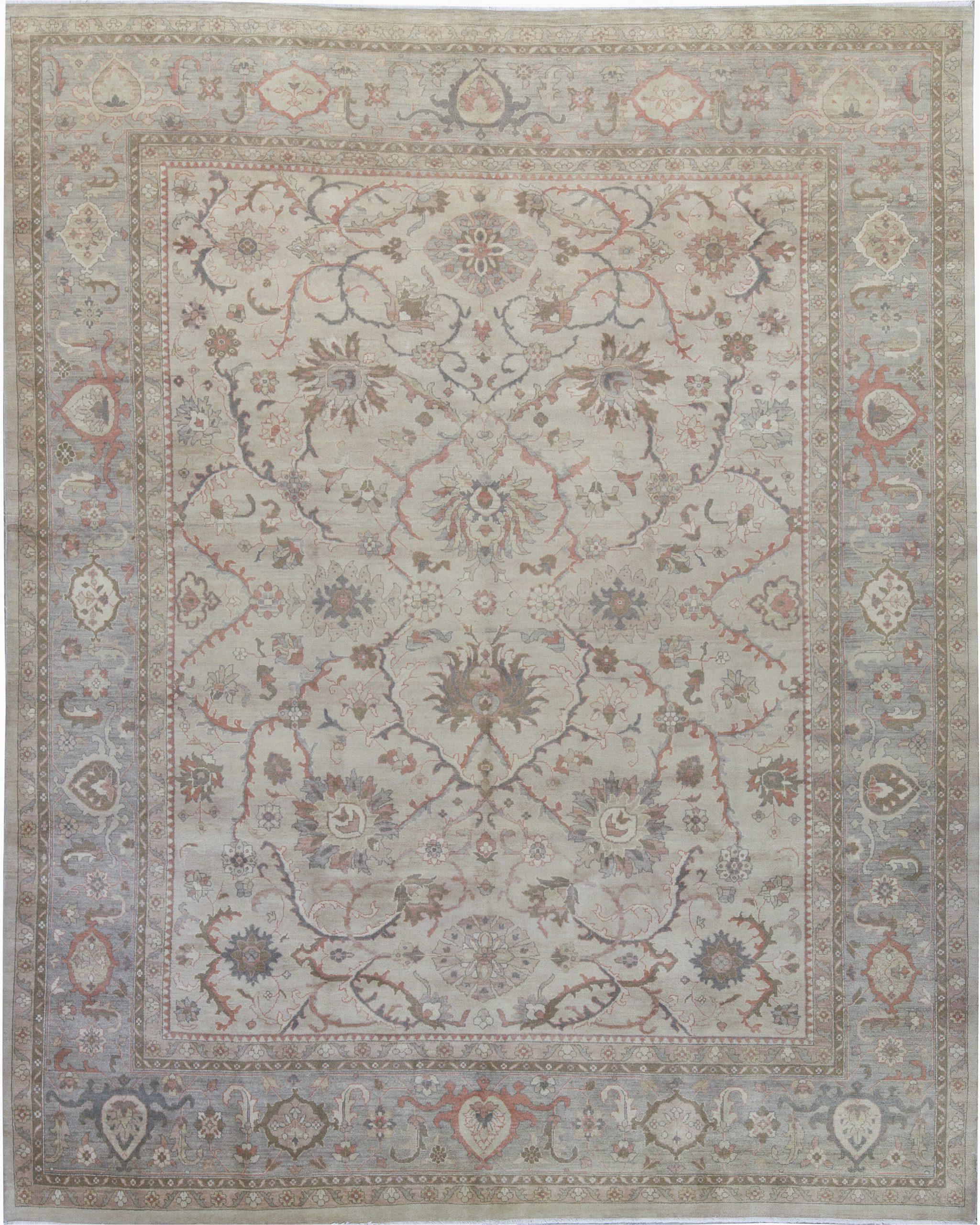 bokara rug co inc one of a kind hand knotted beige 118 x 142 area rug abhd6543