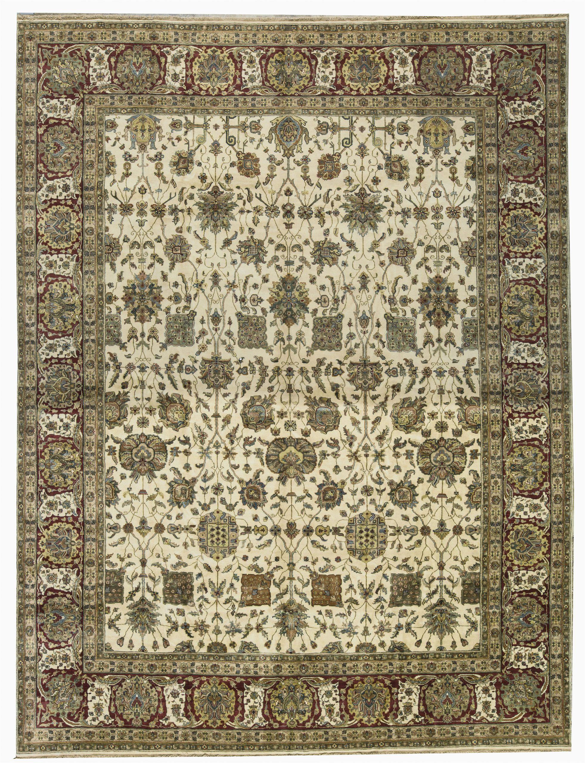 bokara rug co inc one of a kind sona handwoven 121 x 158 wool yellowbrown area rug abhd2489