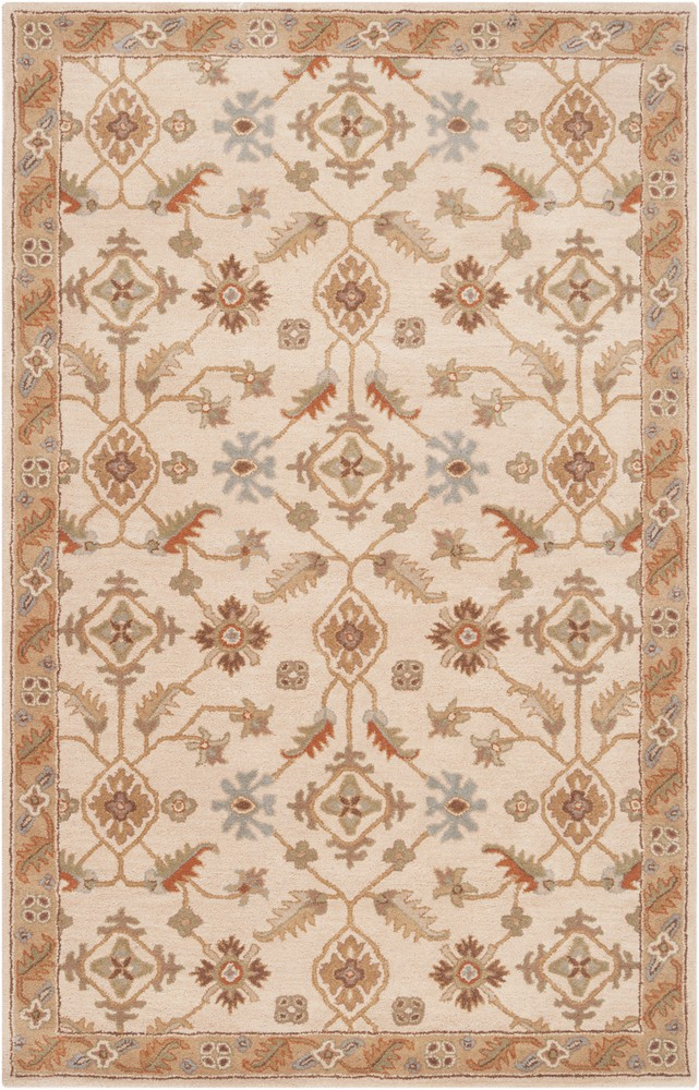 surya caesar traditional area rug 10 ft x 14 ft rectangular khaki