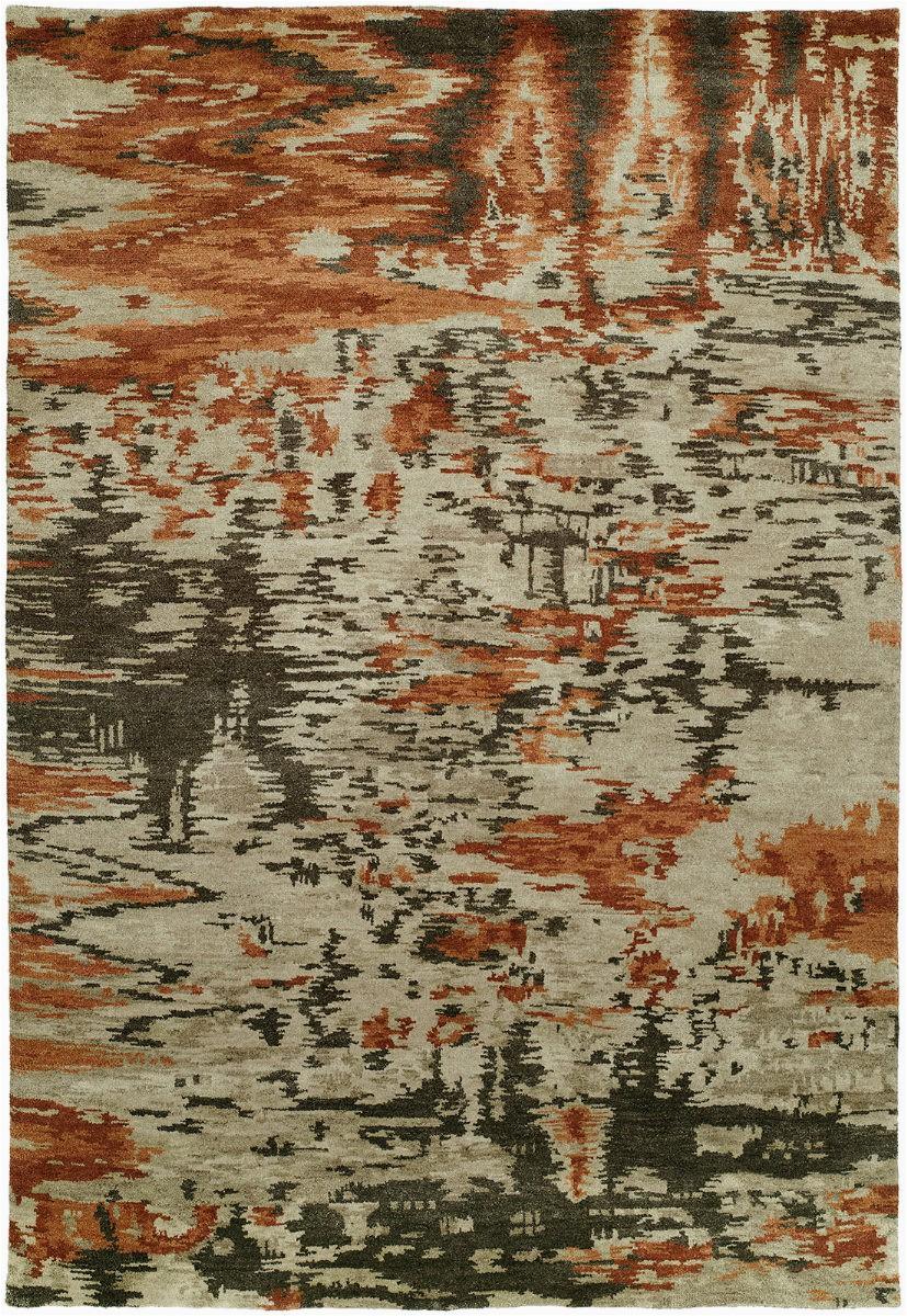 famous maker dynamic mirage burnt orange area rugx