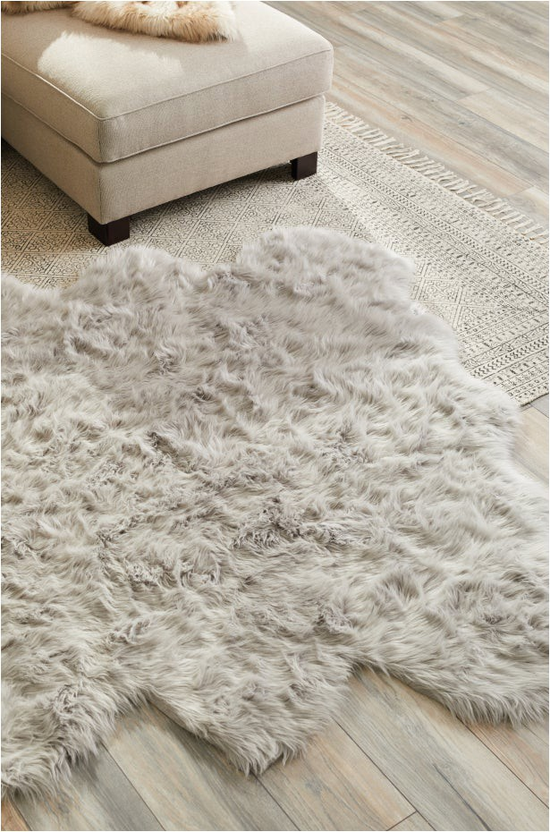softest rug materials faux fur