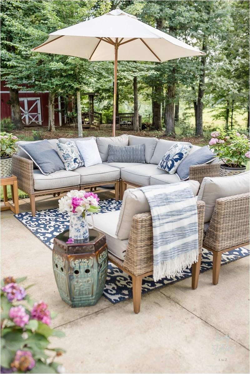 Outdoor patio decorating patio furniture 14
