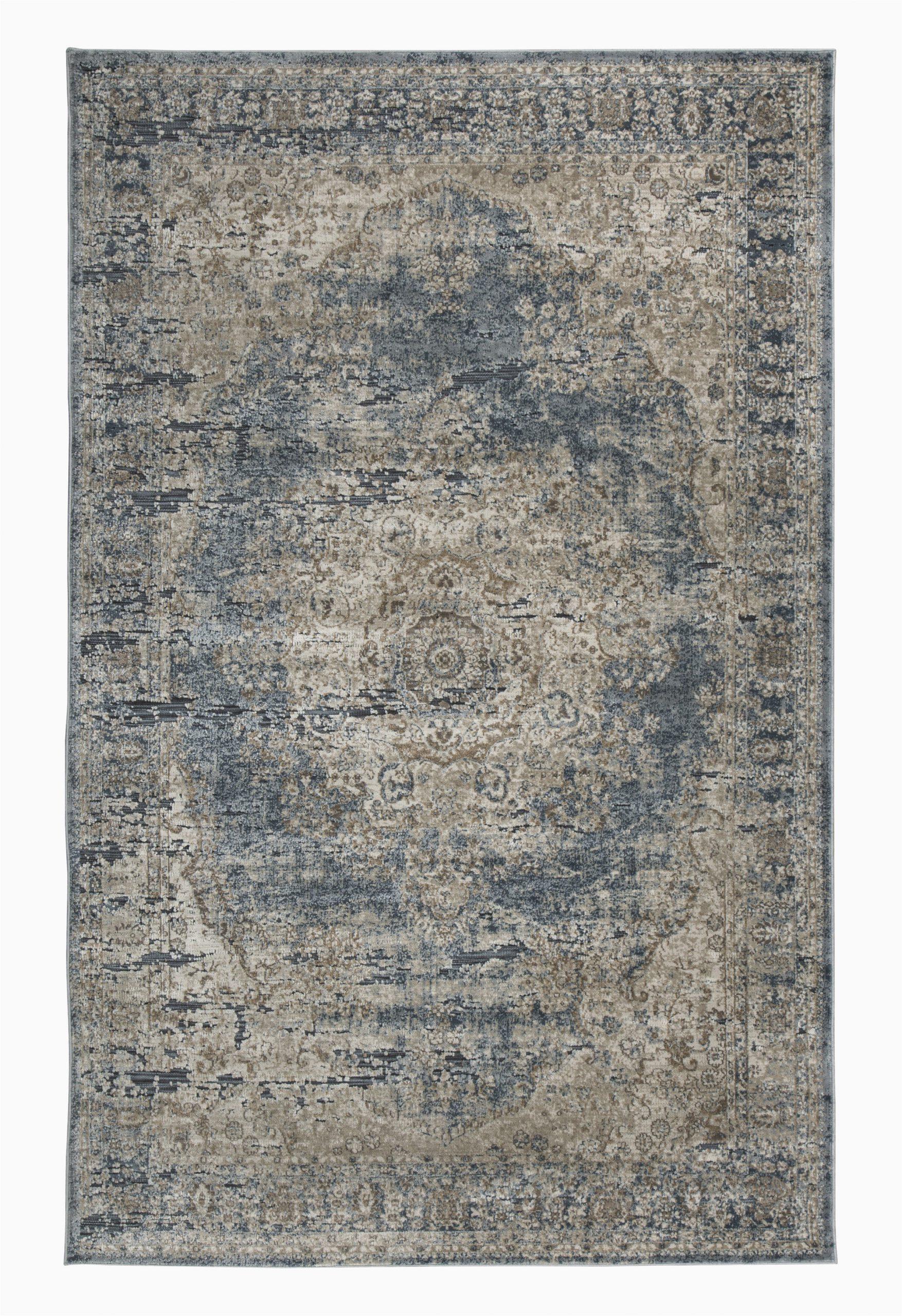 helene oriental bluetan area rug