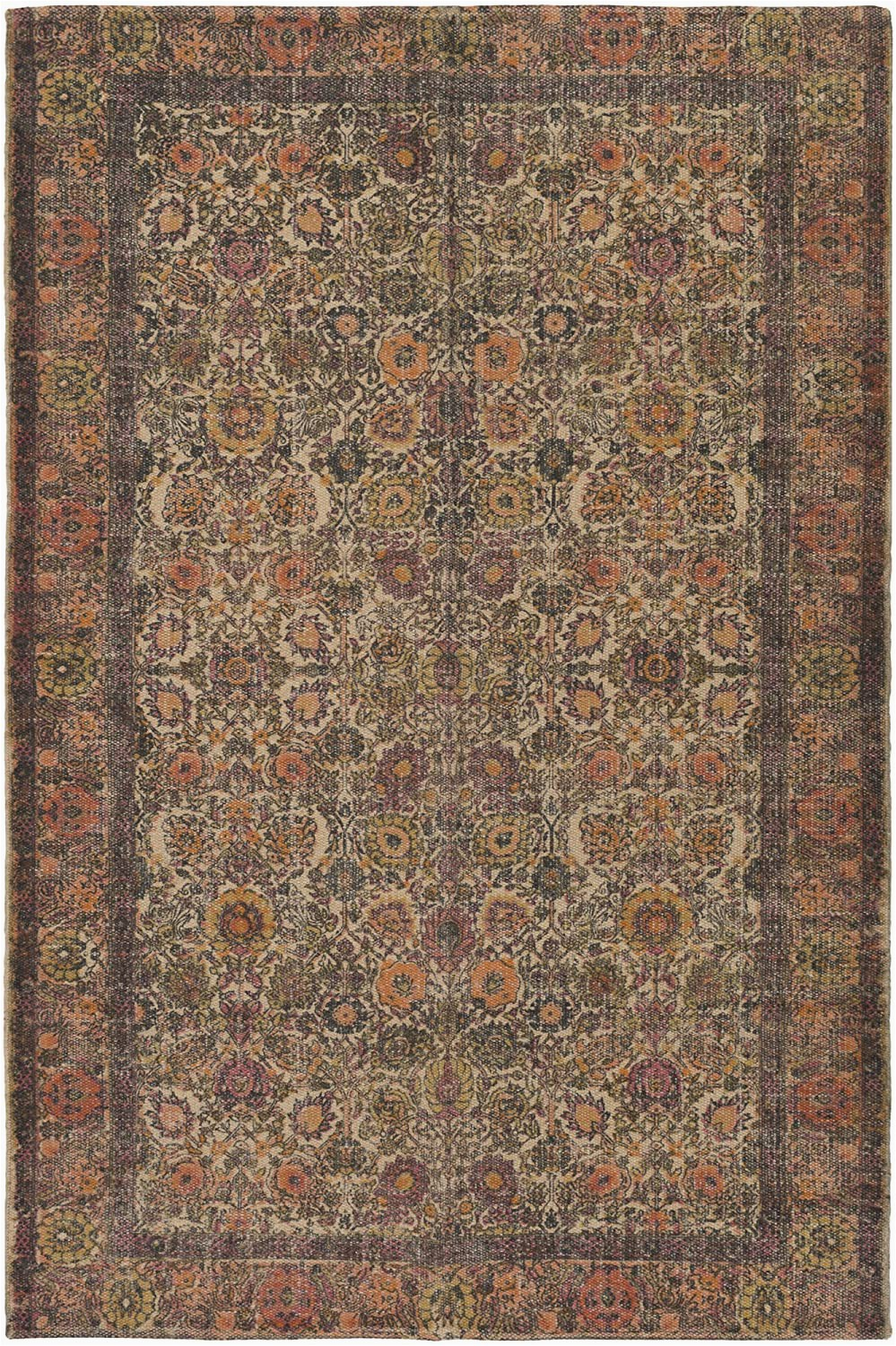 "Burnt orange 5×7 area Rug Amazon Surya Shadi 5 X 7 6"" area Rug Burnt orange"