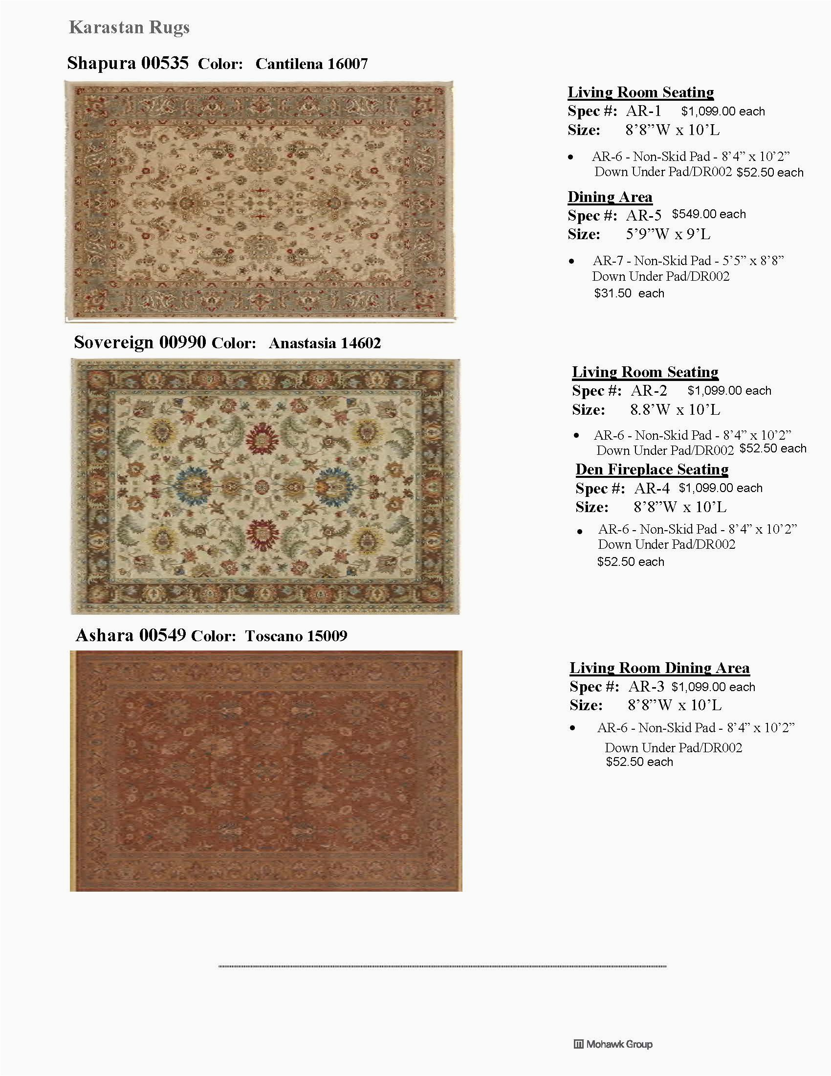Country Inn Suites Gen 4 July 12 2017 rev layout 9 18 17 1 1 AREA RUGS