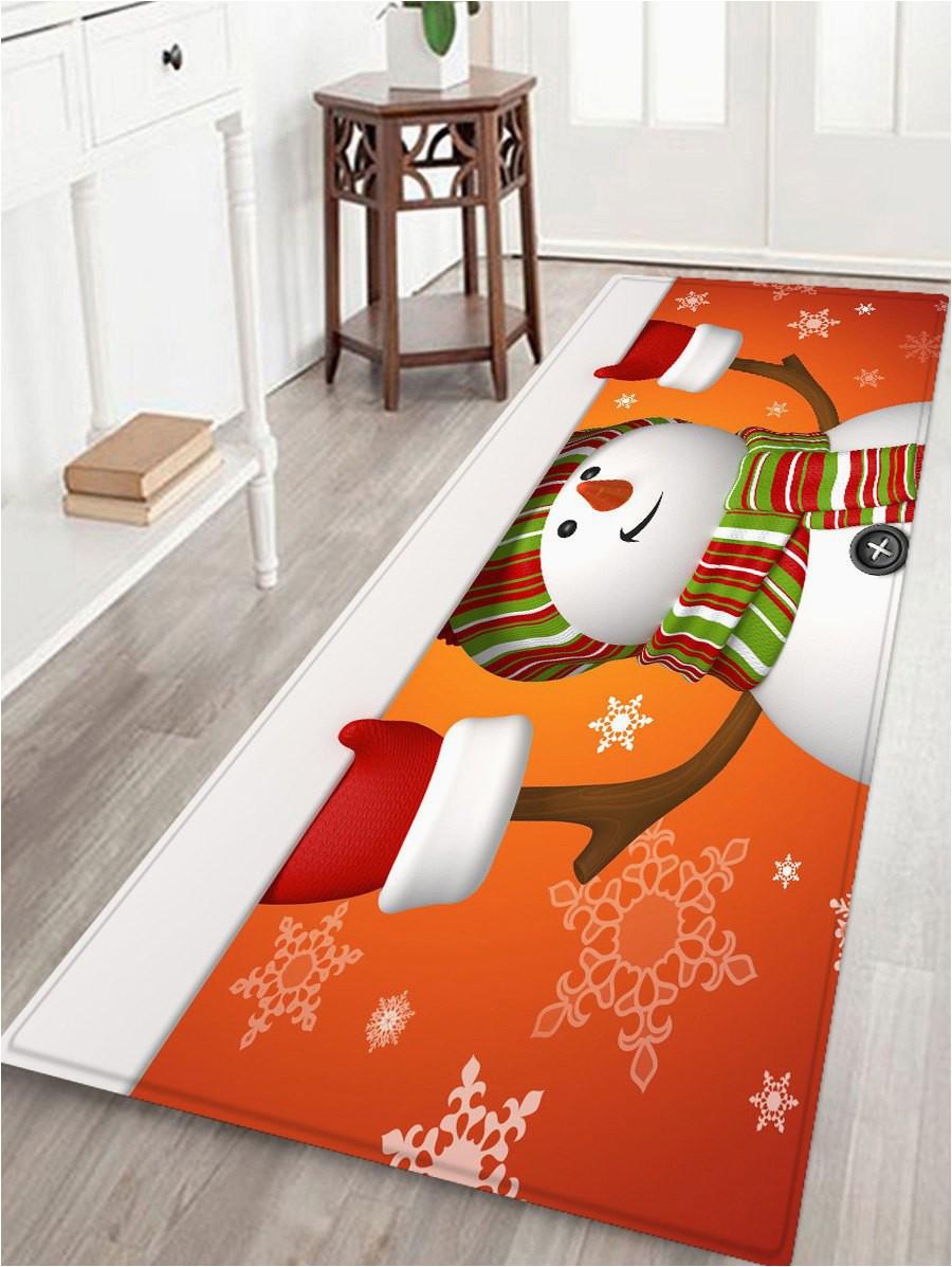 Christmas area Rugs for Sale Christmas Snowman Printed Non Slip area Rug