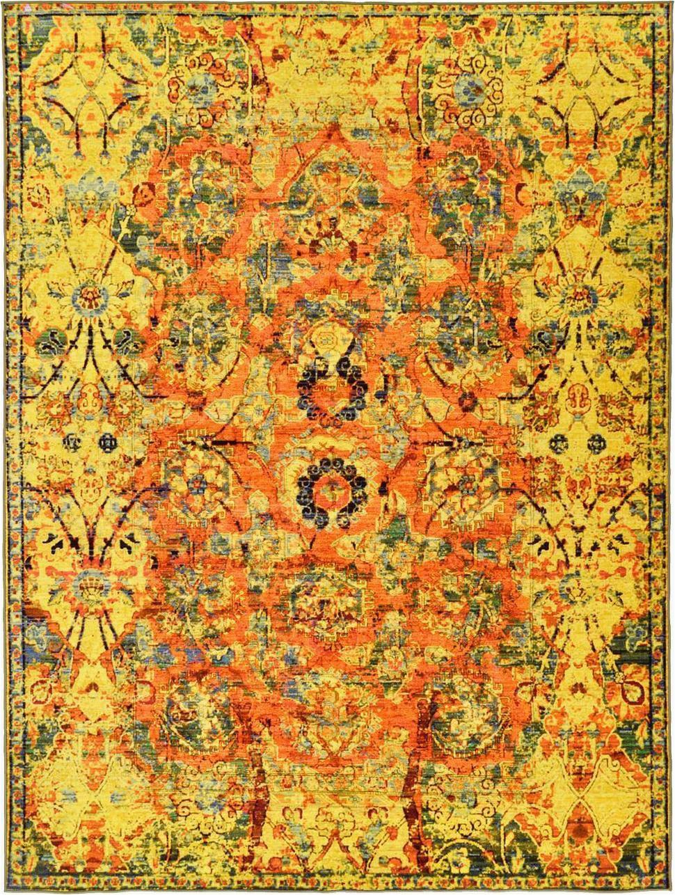 8e yellow turkish eclat area rug thumb 970xauto