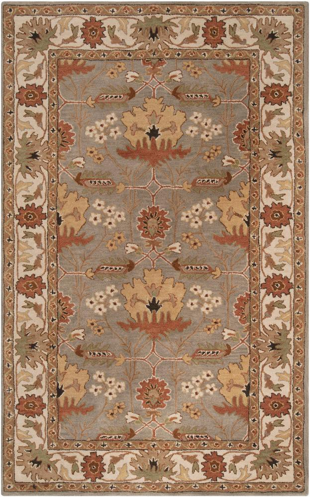 surya bungalow bng5018 brown black arts and crafts area rug