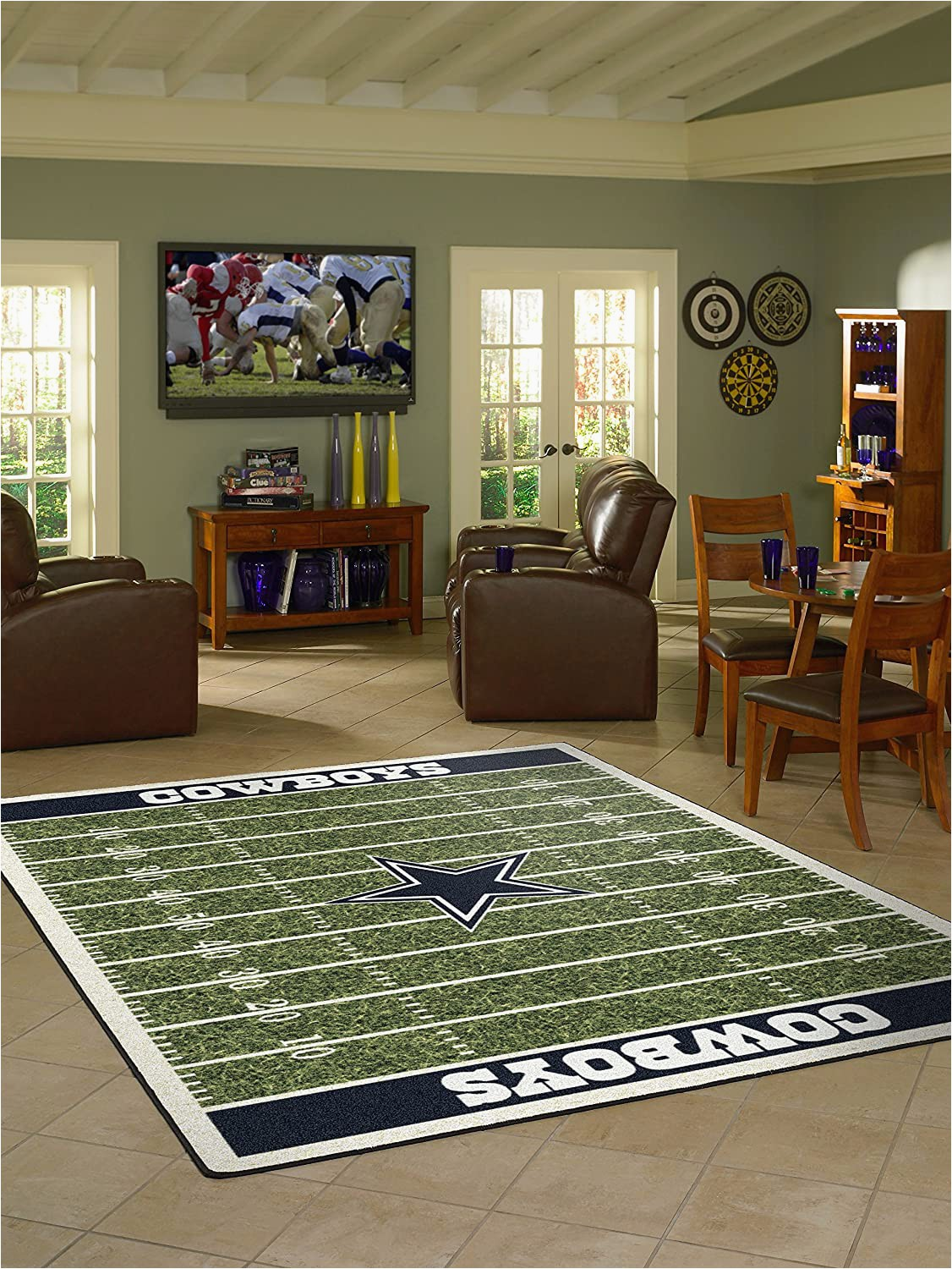 Dallas Cowboys area Rugs Sale Amazon Imperial Ficially Licensed Home Furnishings