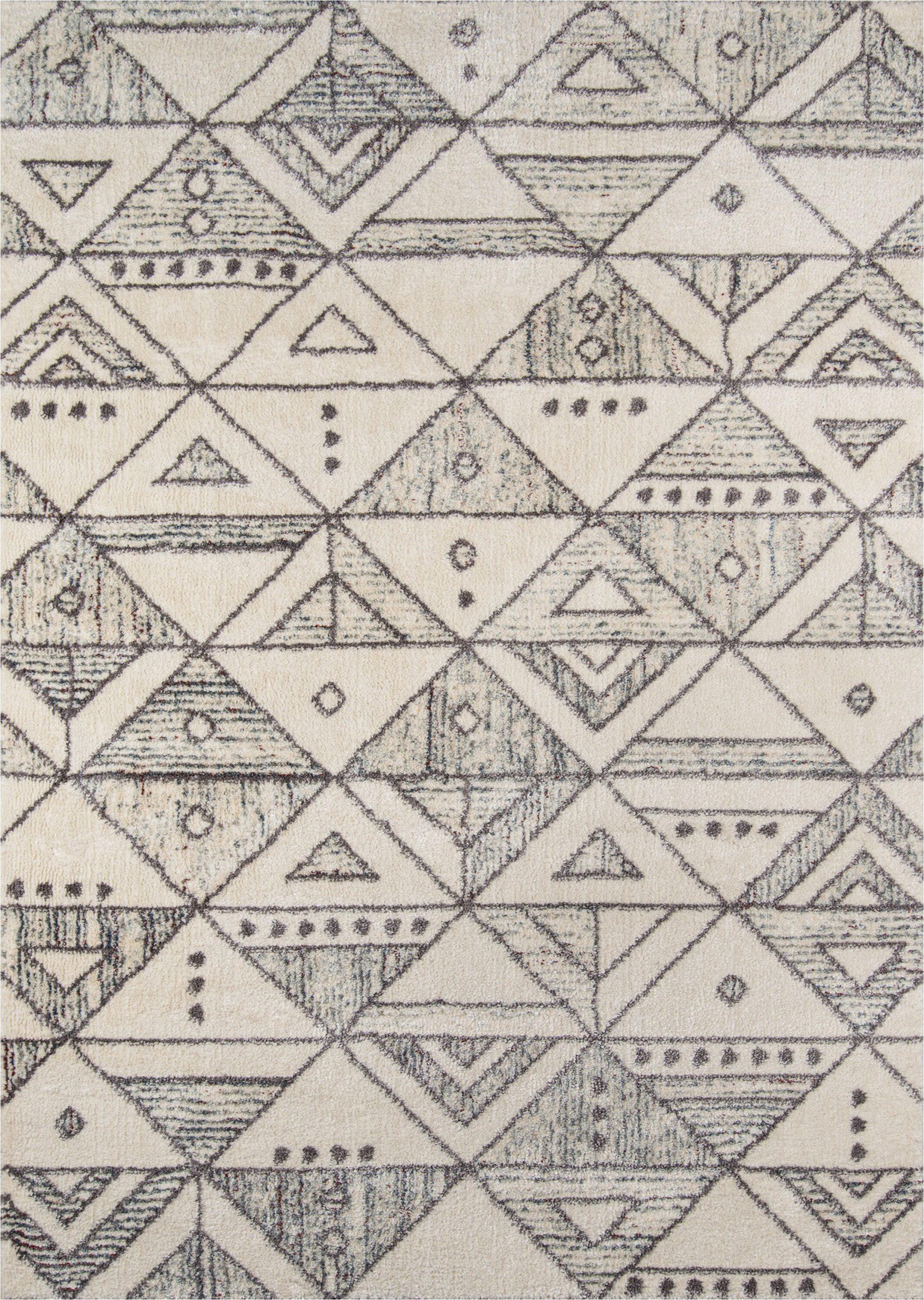 danny power loom ivorycharcoal gray rug