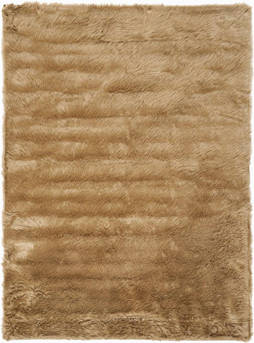 safavieh faux sheep skin fss115e camel area rugx