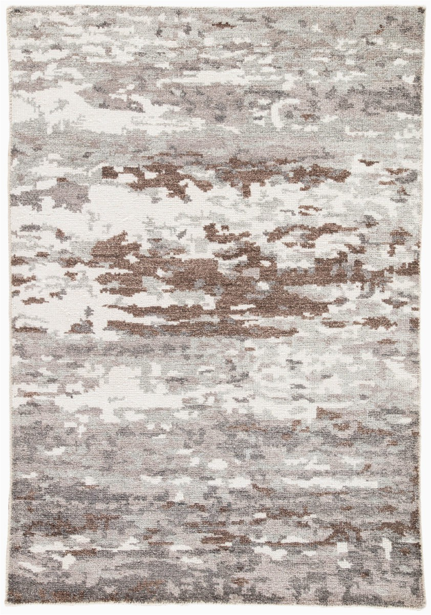 Gray Brown and White area Rug Jaipur Living Heritage Krona Hr18 Gray White area Rug