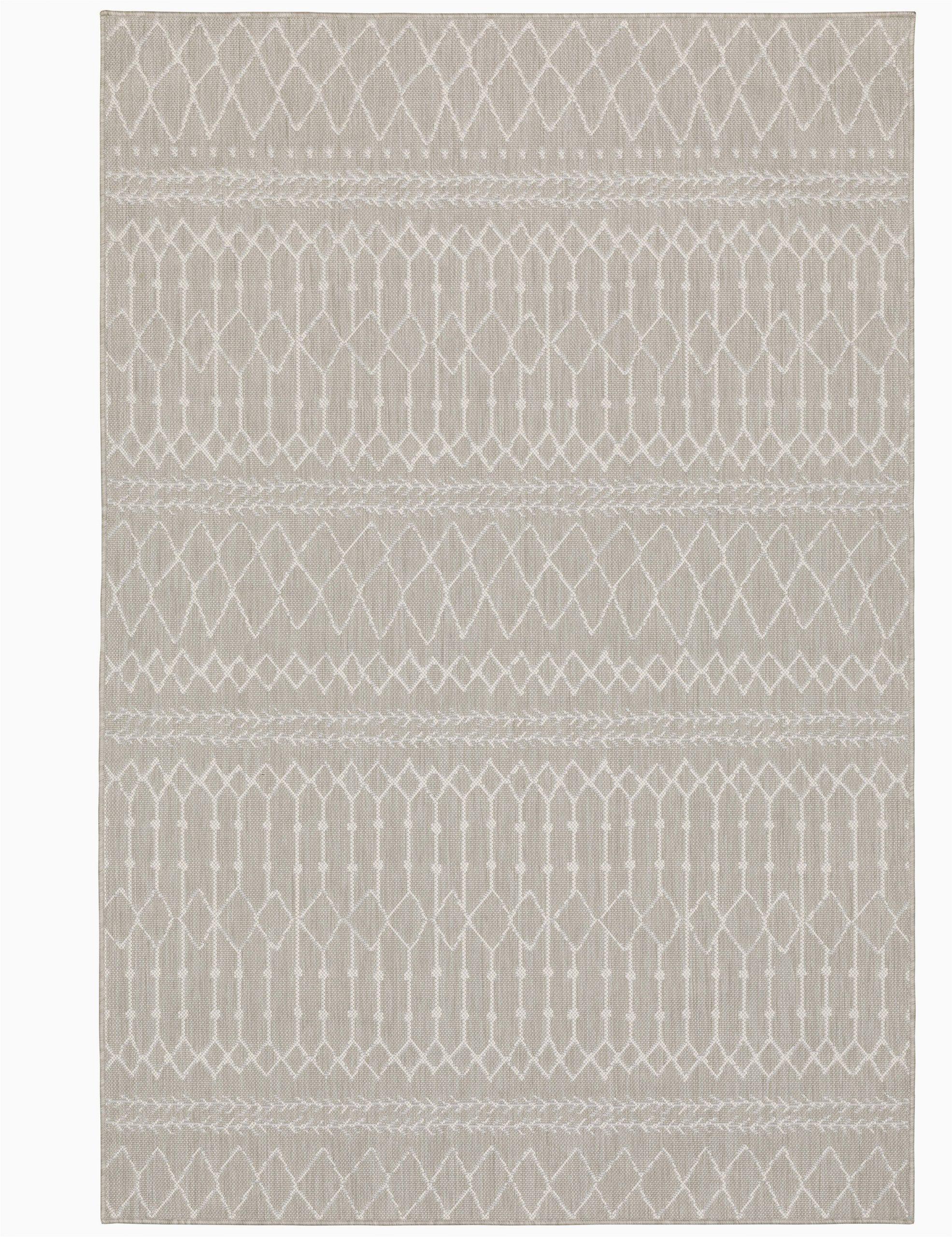 sechura geometric gray indooroutdoor area rug