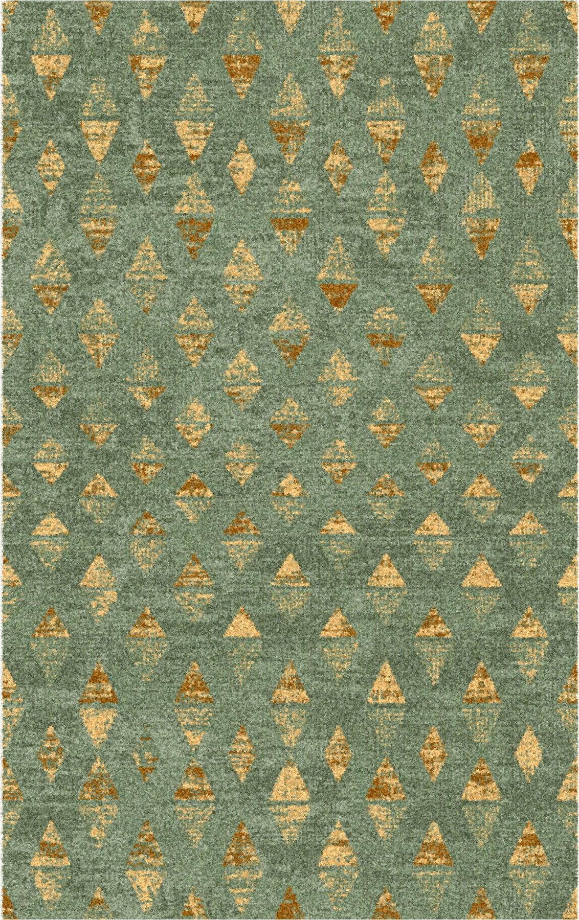 mease greengold area rug